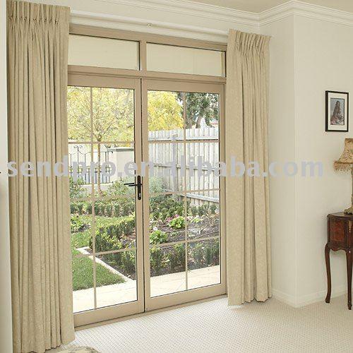 Tama o est ndar de aluminio de doble puerta abatible para for Puertas de terraza de aluminio