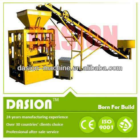 DS8-15 interlocking brick machines for construction equipments machinery