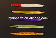 Venta al por mayor 2013 hyd- cebo- 0096 cebo artificial de metal plantilla de peces de plomo