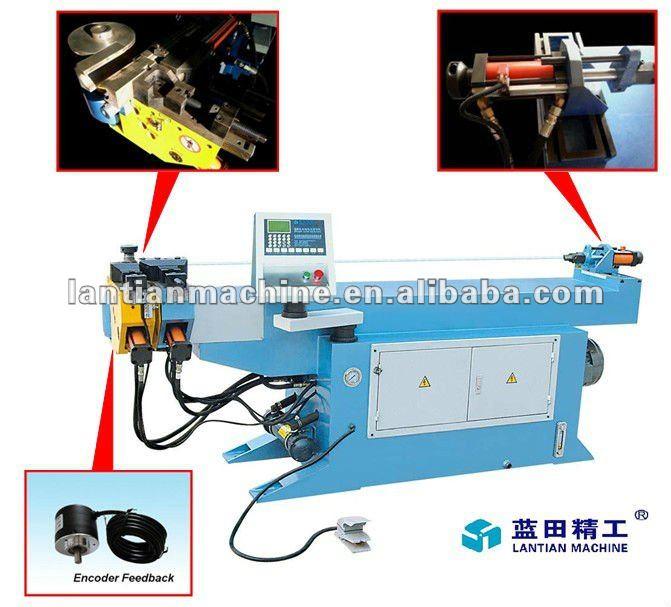 muffler bending machine