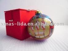 LD glass christmas ball ornaments