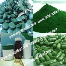 Mixed Spirulina and Chlorella tablet
