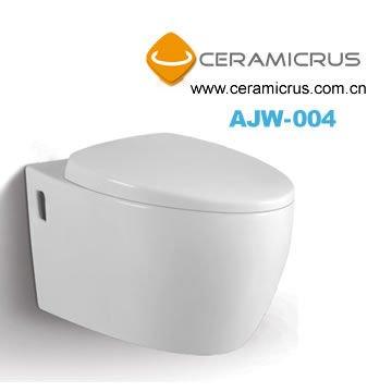 Ceramic wall mount toilet AJW-004