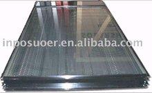 black chrome flat plate solar collector