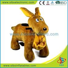 GM5941 walking animal used amusement rides riding animal toy