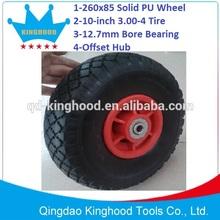 Pneumatic 10 inch wheel tire