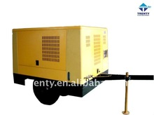 145 hp TROGY145A DIESEL ENGINE PORTABLE SCREW AIR COMPRESSOR