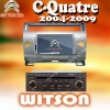 WITSON White CITROEN C-Quatre CITROEN CAR DVD with Auto Rear View Function
