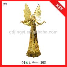 Fashion acrylic LED flying angel table decoration