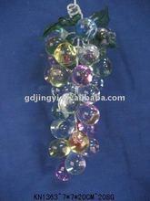 acrílico cristal multi cor uva cluster