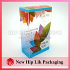Unique Soft Crease Clear Plastic Packaging Box