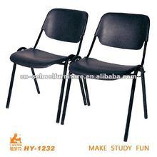 Cheap black plastic school chair