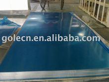 blue PVC coated aluminum plate/sheet
