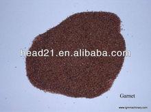 abrasive garnet sand 60, 80, 100,120 for waterjet cutting machine