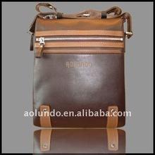 Classical genuine leather shoulder bags handbags men