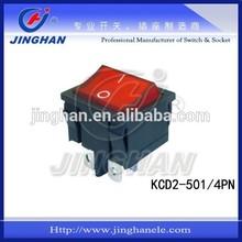 6-10A,125-250V KCD2-501 ROCKER SWITCH illuminated CE RoHS CQC TUV