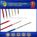 ul3122 resistente al calor de silicona de alambre de fibra de vidrio