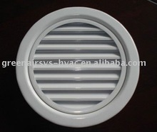 Round Weather Proof Air Louver (HVAC,air register,air vent)