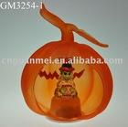 halloween pumpkin with LED light