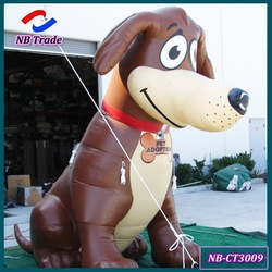 NB-CT3009 Ningbang the newest style 2.5 M high fixed inflatable cartoon dog for advertisement