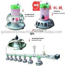 cylinder feeding system for broiler breeder poultry equipment
