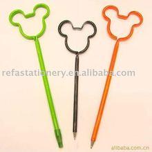 school supplying pen in micky mouse shape
