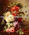 moderna flor decoración abstracta pintura al óleo para decoración