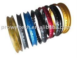 Colorful 17 inch motorcycle spoke rim/Alloy wheel rim/Motorcycle wheel rim