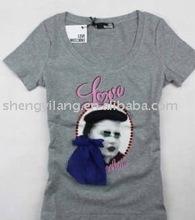 Ladies fashion t shirt for female / t shirt design for ladies L02qe6