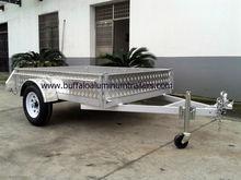 Aluminium box trailer
