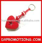 heart shape eva keyring//keyring