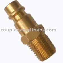Euroepan Style Brass Pneumatic Quick Coupling