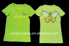 Laser cut lady blouse