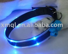 Decorated With Cute Feet Model Dog LED Collar For Sale Pet Collars & Leashes