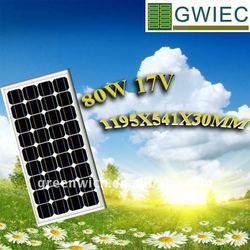 CE 80W Solar Cells