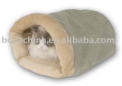 New arrival pet product latest design personalized plush cat bed