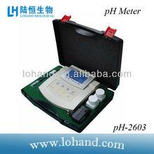 Multifunctional digital ph meter PH-2603 & PH,MV,T,cf,ec,tds meter