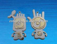 lover keychain holder / design lovely keyring key chain /fashion metal cool key ring holder