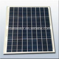 12V 50W Polycrystalline Silicon PV solar panel price