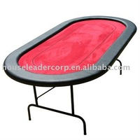 84'' Red Casino Table Poker table Dimension