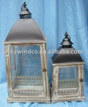 antique wooden lantern,antique style lantern