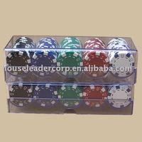 100 Casino Poker Chip Racks