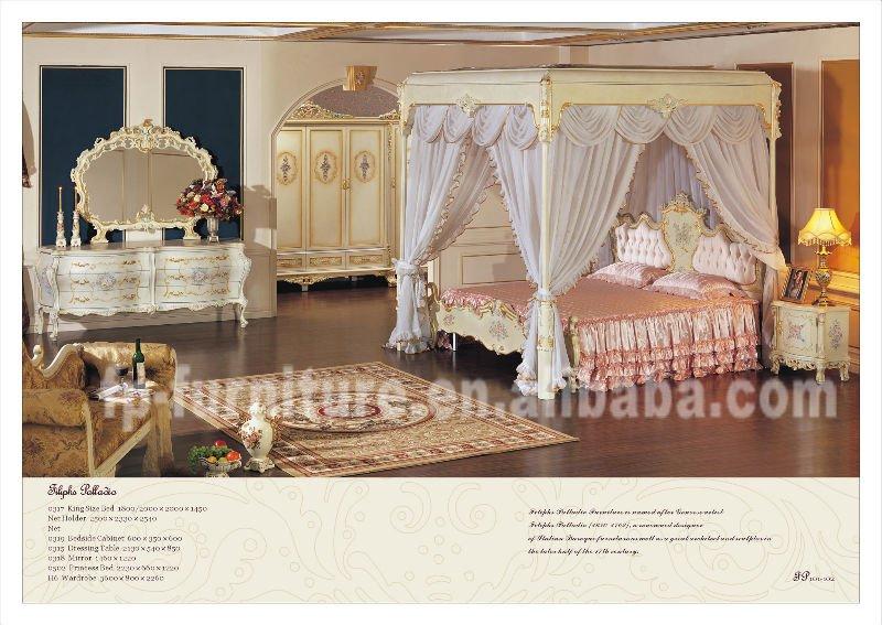 Muebles antiguos franc s italiano juego de dormitorio - Muebles de dormitorio antiguos ...