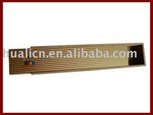 Fashion Eco Wooden Pencil case pen boxes