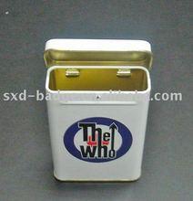 Tin Cigarette Case With Custom Logo