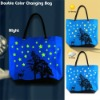 color changing bag,UV bag,UV color changing Beach Bag
