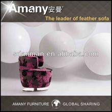 Economic import soft fabric leisure chair B01