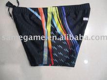 Men's swimming trunk, Fashion beachwear, 82% nylon, 18% elastane
