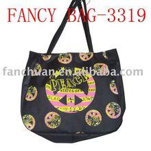 High quality full printing nylon shopping bag