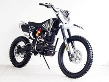 Off-road KTM 250 dirt bike motorcycle